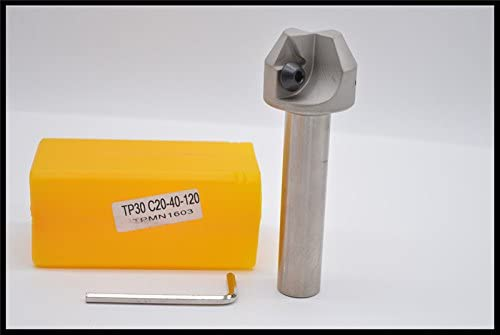 popular 1pcs TP30 C20-40-120 lowest CNC Lathe Milling Cutter 30 degrees Chamfer Turning Tool online sale Holder Set Boring Bar outlet online sale