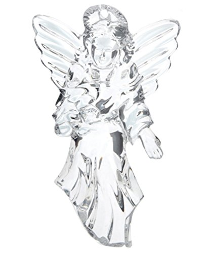 Waterford Crystal Angel 12 days of Christmas Glass Tree Ornament.