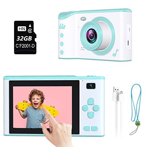 Kids Camera, ieGeek Kids Digital Camera Mini Stem Toys,2.8 Inches 1080P HD...