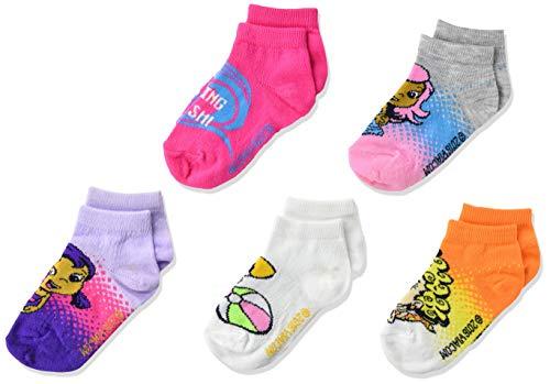 Bubble Guppies Girls 5 Pack Shorty Socks