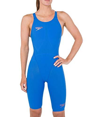 Speedo Fastskin LZR Racer Element Openback Kneeskin Damen Bondi Blue/Copper Größe UK 28 | EU 32 2019 Schwimmanzug