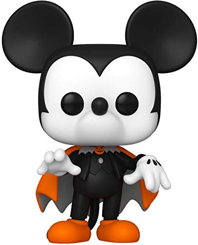 Funko- Pop Disney: Halloween-Spooky Mickey Figura Coleccionable, Multicolor (49792)