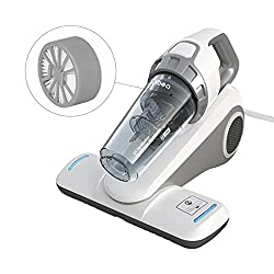 Dibea Corded Handheld Bed Vacuum Cleaner With Roller Brush