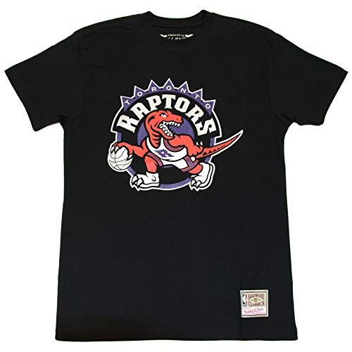 Mitchell & Ness Team Logo Tee (T. Raptors, Black, XL)