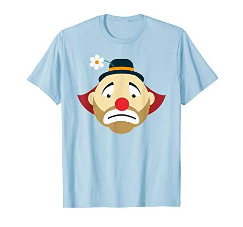 Cute Sad Clown Circus Art | Clown Lover T-Shirt & Gift