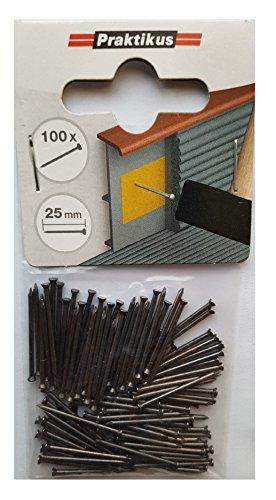 Stahlstifte für Sockelleisten 25 mm