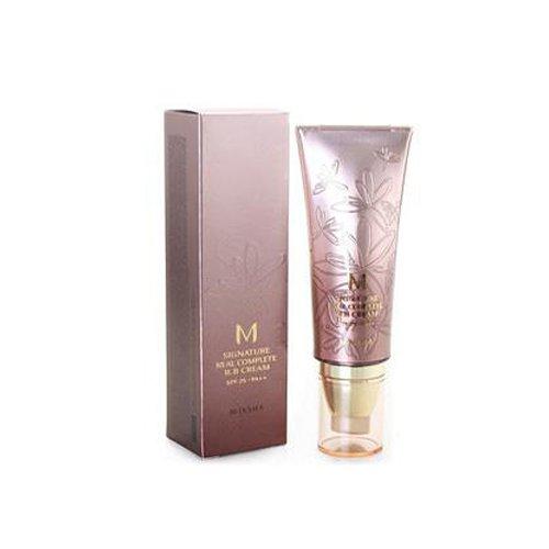 MISSHA M Signature Real Complete BB Cream SPF25/PA++ (No.21/Light Pink Beige) 45g, 1er Pack