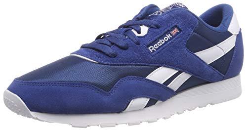 Reebok Herren Classic Nylon Fitnessschuhe, Mehrfarbig (Sf/Bunker Blue/White 000), 46 EU