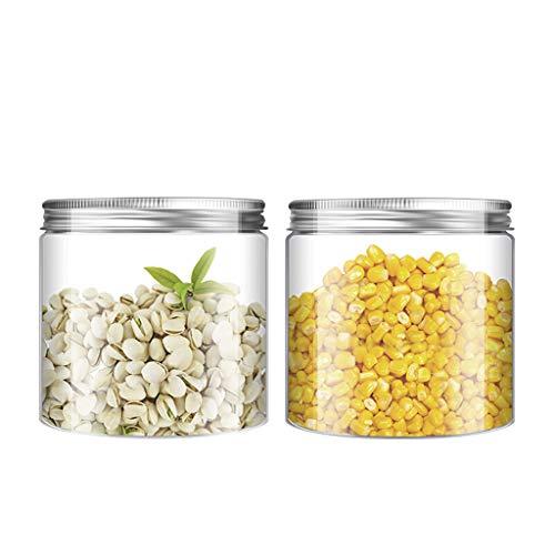 Wide Mouth afgesloten pot, met luchtdicht deksels, voor de conservenindustrie, fermenteren, beitsen, Decor - Bevriezing, BPA Gratis, Voedsel Container van de Opslag