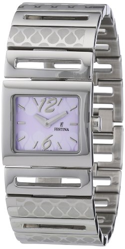 Festina Damen-Armbanduhr XS Trend Lady Analog Edelstahl F16555/2