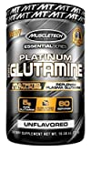 Muscletech プラチナム100%グルタミン 300g (Platinum 100% Glutamine, 300 Grams Unflavored)