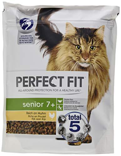 Perfect Fit kattenvoer droog voedsel senior 7 rijk aan kip, 4500 g