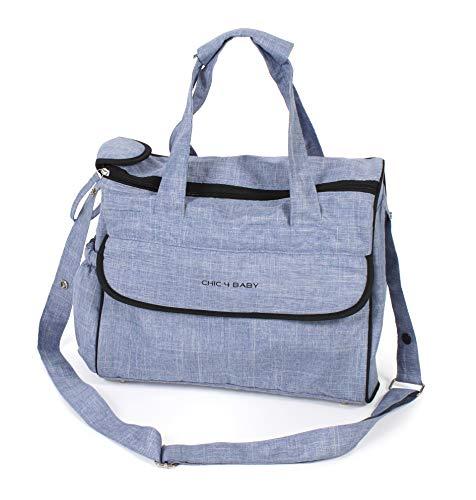CHIC 4 BABY 415 55 luiertas comfort, jeans lichtblauw, blauw
