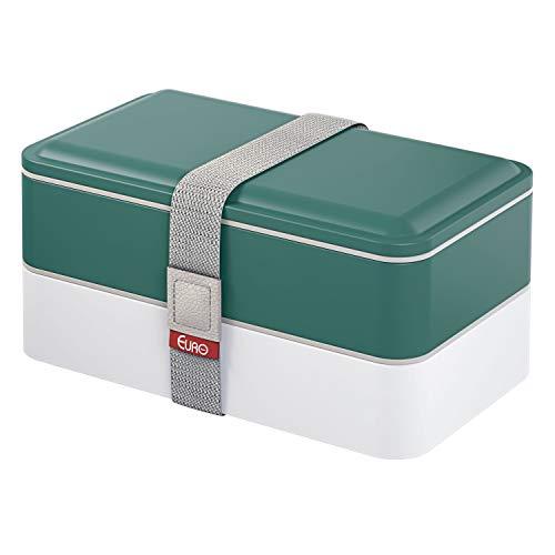 Marmita lunch Box, 1.2L, Verde, Euro