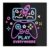 Play Everywhere Game Player Gift – La tazza Tient La Main 11 Oz, 15 oz in marmo bianco stampato in ceramica, design alla moda che Je Personalise