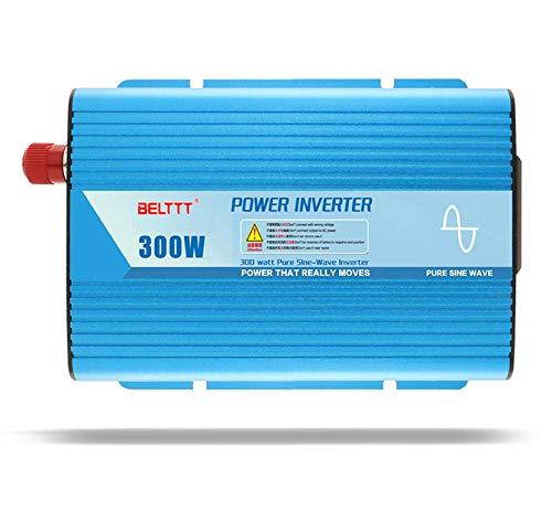 Inversor de Onda sinusoidal Pura 300W inversor Solar fotovoltaico DC 12V a AC 220V Convertidor de Potencia de Coche Pico para portátil Pad Tablet 12v-300W/600W