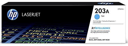 HP Color LaserJet Pro M254nw original Tonerkit 203A - CF540A / CF541A / CF542A / CF543A