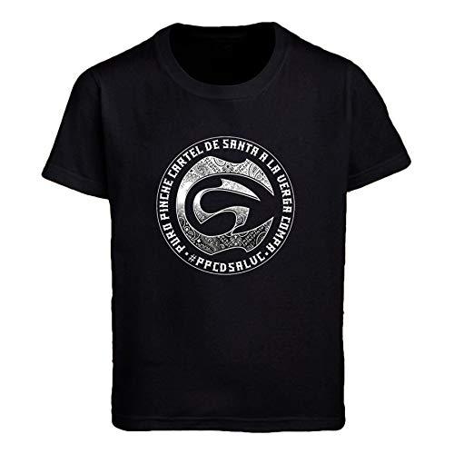 PEIJUNLAI T Shirts for Men G-B03 Cartel De Santa Funny Novelty Tops Mens tee Shirts XXL