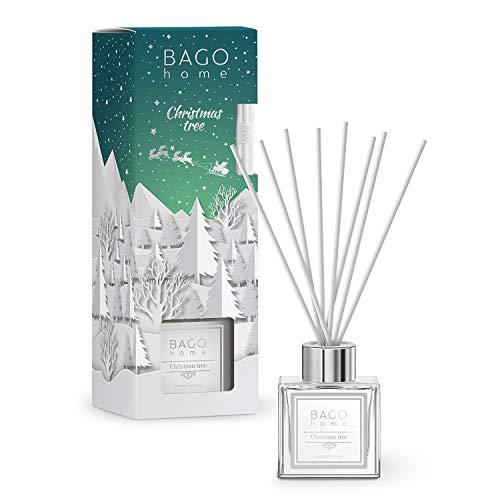BAGO home Christmas Collection Oil Reed Diffuser Set - Christmas Tree, 90 ml 3 oz