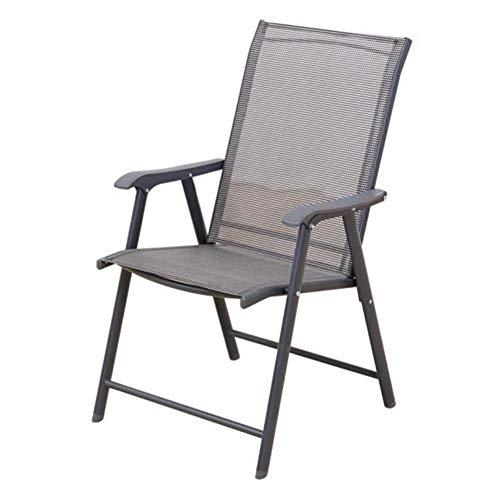 Vouwstoelen Hoge rug Zitplaatsen Bistro Balkon Terras Tuinstoel Eetstoelen CJC