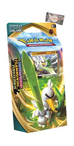 ★ Pokémon Schwert & Schild Flammende Finsternis - Deck Galar-Lauchzelot + stickermarkt24de Gum