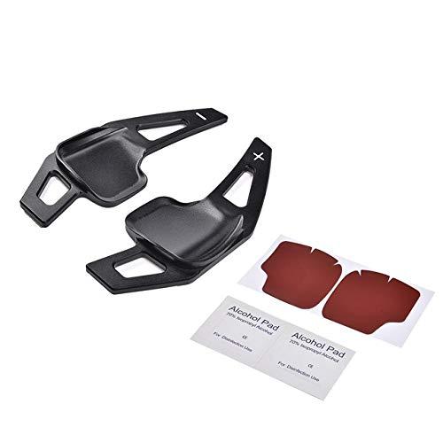 QOHFLD para BMW Serie 2/3/4/5/6 X1X4, Accesorios para automóviles | Volantes y bujes de Volante Izquierda y Derecha Volante del automóvil Paleta de Cambios Paleta de Cambios de aleación de Aluminio