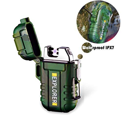 LXSZRPH Waterproof Lighter USB Electric...