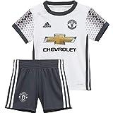 adidas Kinder Manchester United Mini-Ausweichausrüstung Fußballdress, White/Bold Onix, 80