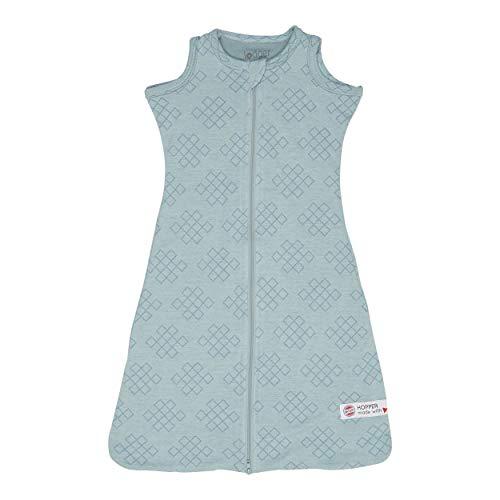 Lodger Unisex baby Hopper Empire slaapzak blauw 074), 56/62 (fabrieksmaat: 50/62)