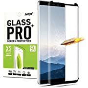 for Galaxy Note 9 Tempered Glass Screen Protector,Penacase[Full Coverage][Easy Install][9H Hardness][Bubble-Free] Tempered Glass Screen Protector for Samsung Galaxy Note9(Black)