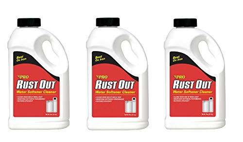 Pro Products Rust Out RO05B Water Softener Cleaner and Iron Remover, 4.75 lb. Bottle, 3 Pack