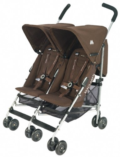MacLaren WEX14012 - Twin Triumph Coffee Brown