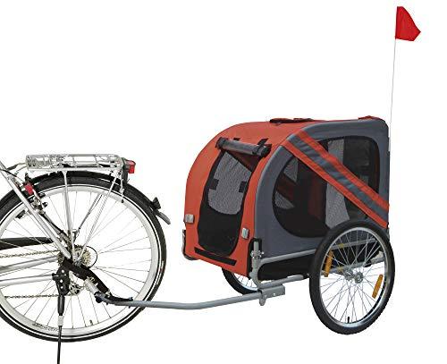 Karlie Doggy Liner Economy L: 125 cm B: 95 cm H: 72 cm rot-schwarz