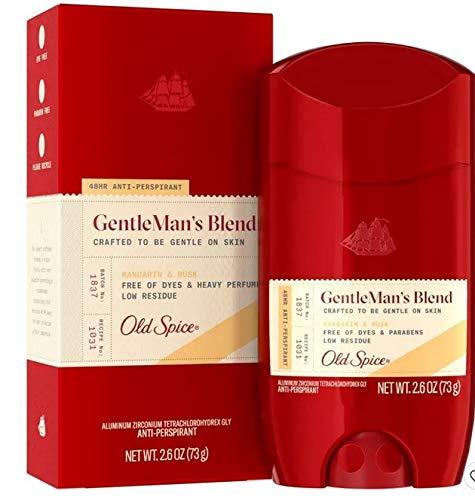 Old Spice GentleMan's Blend Mandarin & Musk Antiperspirant and Deodorant - 2.6 oz 1