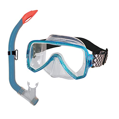Beuchat, Set Maschera Purge Snorkel OCEO Unisex-Adult, Turquoise, FR (Taille Fabricant : Unique)