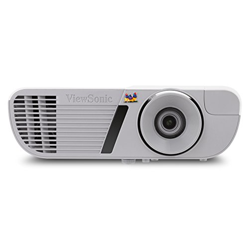 ViewSonic 3200 Lumens Full HD 1080p Shorter Throw Home Theater Projector with 3D DLP and HDMI, Stream Netflix with Dongle (PJD7828HDL)