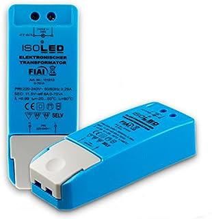 isoled Bloc d'alimentation pour éclairage LED à intensité variable 12V 0–70W universel