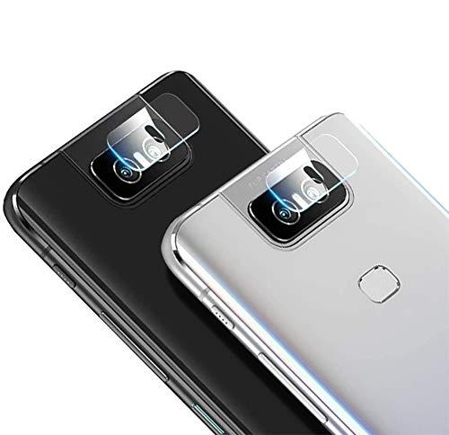Boleyi Della Camera Lens Protector per ASUS Zenfone 7 PRO ZS671KS, Morbido Vetro Temperato Pellicola, Pellicola Protettiva per Fotocamera Posteriore p
