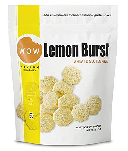 WOW Baking Company Cookies Gluten Free Lemon Burst -- 8 oz (Pack of 3)