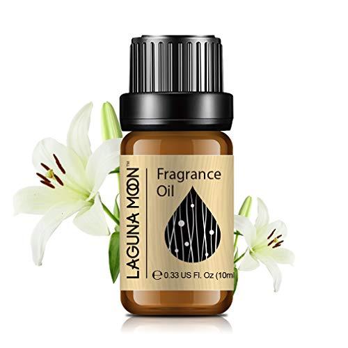 Lagunamoon Duftöle, Ätherische Öle für Luftbefeuchter, Aromatherapie Öl 10ml - Lilie