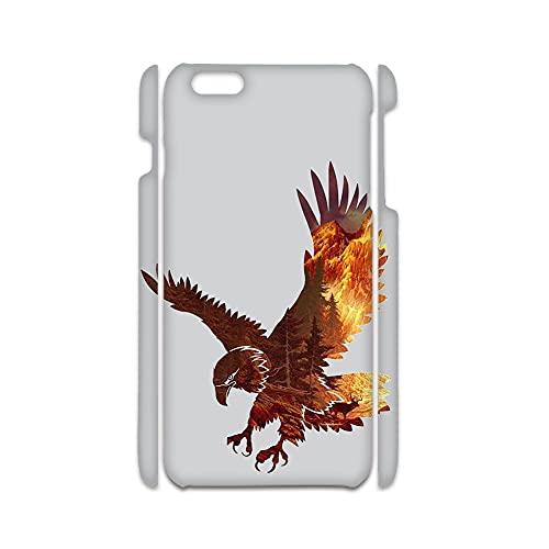 Compatible con iPhone 7 8 4.7 Inch con Quiet Owl Caja De Plástico Duro Bien Chicos