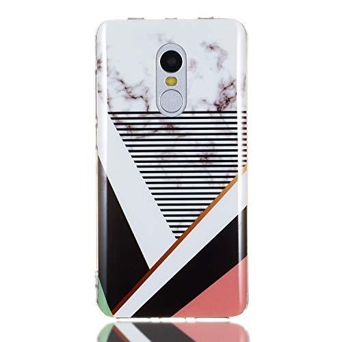 Tosim Xiaomi Redmi Note 4/Note 4X Hülle Flex Silikon, Handyhülle Stossfest Kratzfest Weich Schutzhülle Cover Soft Case für Xiaomi Redmi Note4/Note4X - TOYHU261147 T7