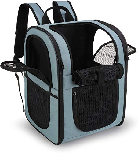 apollo walker Pet Backpack for Small Dogs Cats Rabbits, Soft-sided Mesh Pup Pack for...
