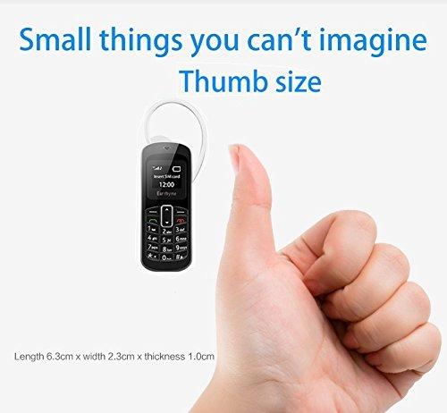M9 3 en 1 teléfono móvil auriculares de bolsillo teléfono inalámbrico mini bluetooth Dial auriculares auriculares GSM teléfono móvil 21 g 99,99% plástico