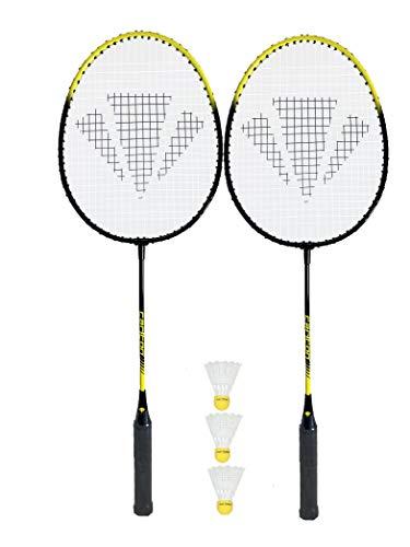 Carlton Rückschlagspiel Match Play 2-Spieler Badminton-Set, mit Schläger, Bälle)