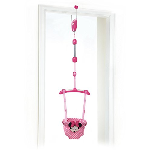 Bright Starts Disney Baby Door Jumper, Minnie Mouse