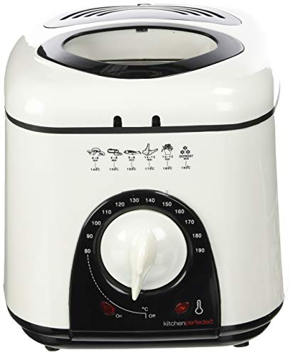 Lloytron E6010WI Kitchen Perfected Compact Deep Fryer, 1 Litre