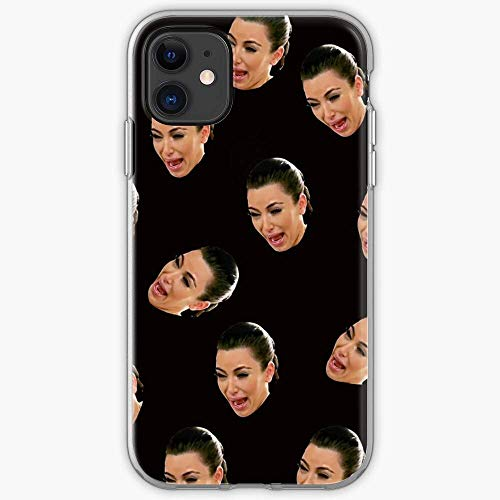 US191PC Crying Kim Gifts Kardashian | Unique Design Snap Phone Case Cover for All iPhone, iPhone 11, iPhone XR, iPhone 7/8/SE 2020.