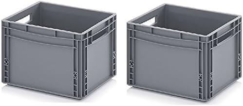2 recipientes europeos de 40 x 30 x 27 cm, incluye metro plegable