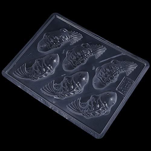 YO-GLÜCKLICHE Plastikschokolade DIY, die Form, Hauptbacken-Werkzeug, einfach zu säubern herstellt
